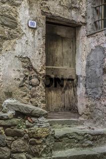 Hauseingang in Ligurien