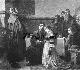 Martin Luther marries Katharina von Bora