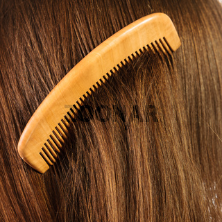 hair background with comb