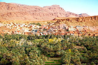 in   gorge morocco africa and  village
