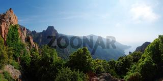 'Calanche von Piana' - Korsika