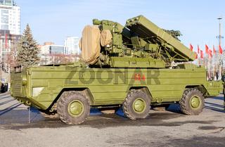 Russian anti-aircraft missile system 'Osa' (SA-8 Gecko)