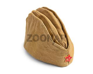 Soviet Army soldiers forage-cap