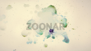 Colorful watercolor paint on vintage canvas. Super high resolution and quality.