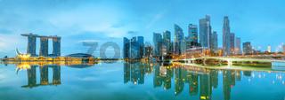 Marina bay of Singapore