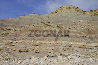 Steilküste am Atlantik bei Luz, Algarve Portugal