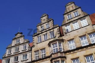 Bremen - Giebelhäuser am Marktplatz
