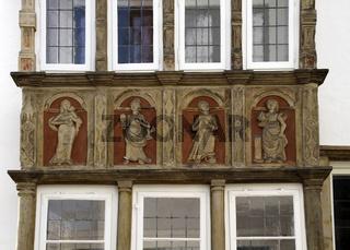 Museumszeile Minden (Haus-Detail)