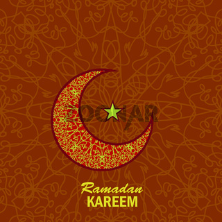 Ramadan Greetings Background. Ramadan Kareem