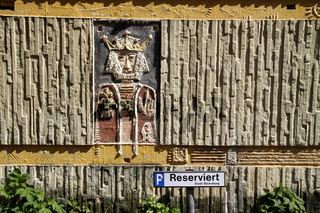 Königs-Relief in Bückeburg