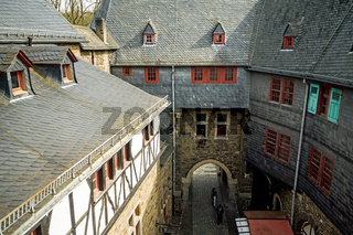 courtyard of the castle Solingen, Germany