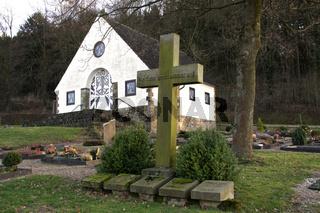 Friedhof Schwalenberg mit Friedhofskapelle