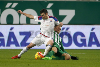 Ferencvaros vs. Vasas OTP Bank League football match