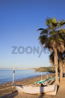 Beach Scenery in Marbella