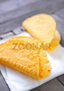 taco or tortilla shells