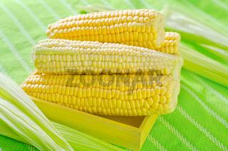 raw corn