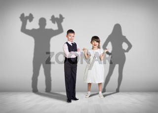 Children and the future shadows