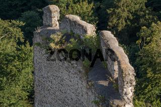 Fragmente der Burgruine Schaumburg - Austria