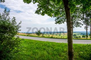 Landschaft beim Ederstausee-43