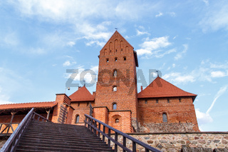 Wooden Stairs of Trakai Castle