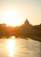 Vatican at sunset, Roma