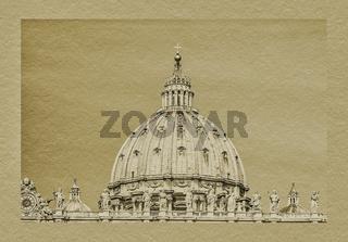 Petersdom Rom, Italien | St. Peter's Basilica, Rome, Italy
