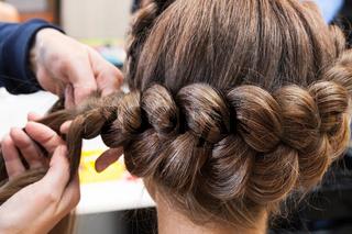braided braids brunette