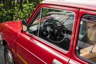 Alter Fiat 127 restauriert