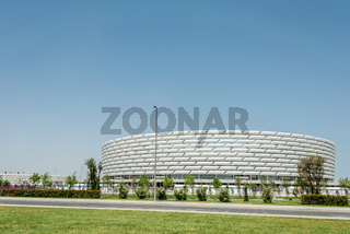 BAKU - MAY 10, 2015: Baku Olympic Stadium on May 10 in BAKU, Aze