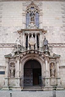 Wolfenbüttel - Portal der Hauptkirche