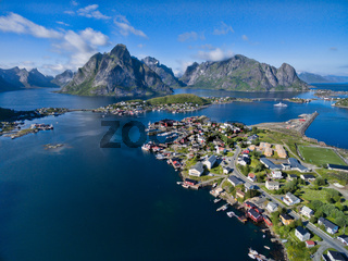 Scenic Reine in Norway