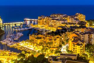 Fontvieille Monaco Harbor