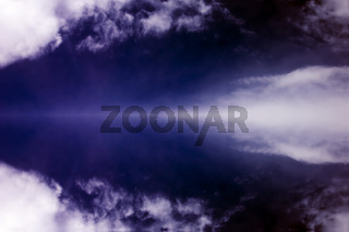 Background with storm clouds