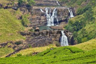 St. Clairs Water Falls Little Niagara of Sri Lanka waterfall
