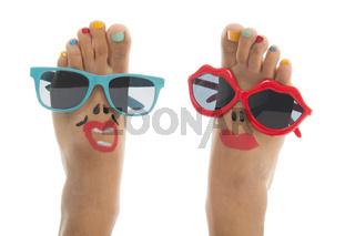 Happy summer feet
