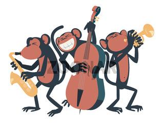 Monkey Jazz Trio.