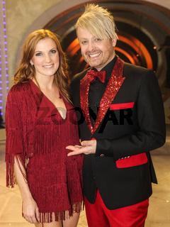 Sängerin Anni Perka und Sänger Ross Antony  ARD TV-Show 'Das große Fest der Besten'  09.01.16 Berlin