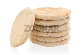 Israeli flat bread pita