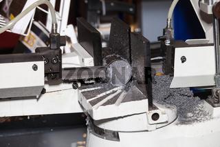 Band saws horizontal automatic cutting range machine