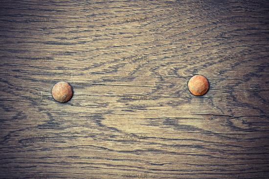 detail on old oak plank