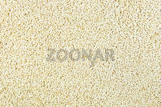 Sesame seeds texture