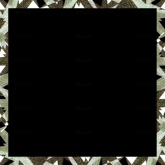 Modern Camouflage Background Frame