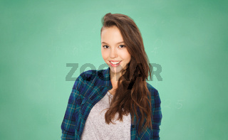 happy smiling student teenage girl