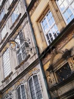 Bremen - Historische Fassaden am Marktplatz