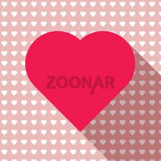 Heart love icon vector eps 10 and jpg.