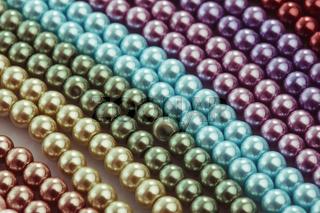 Necklace palette close up