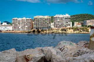 San Antonio de Portmany bay, Ibiza