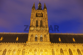Cloth Hall and Belfry in Ypres