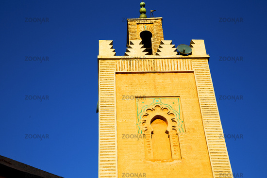 history in maroc africa   religion and the blue     sky
