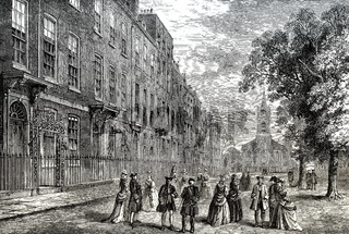 Church Row, 1750, Hampstead, London, England